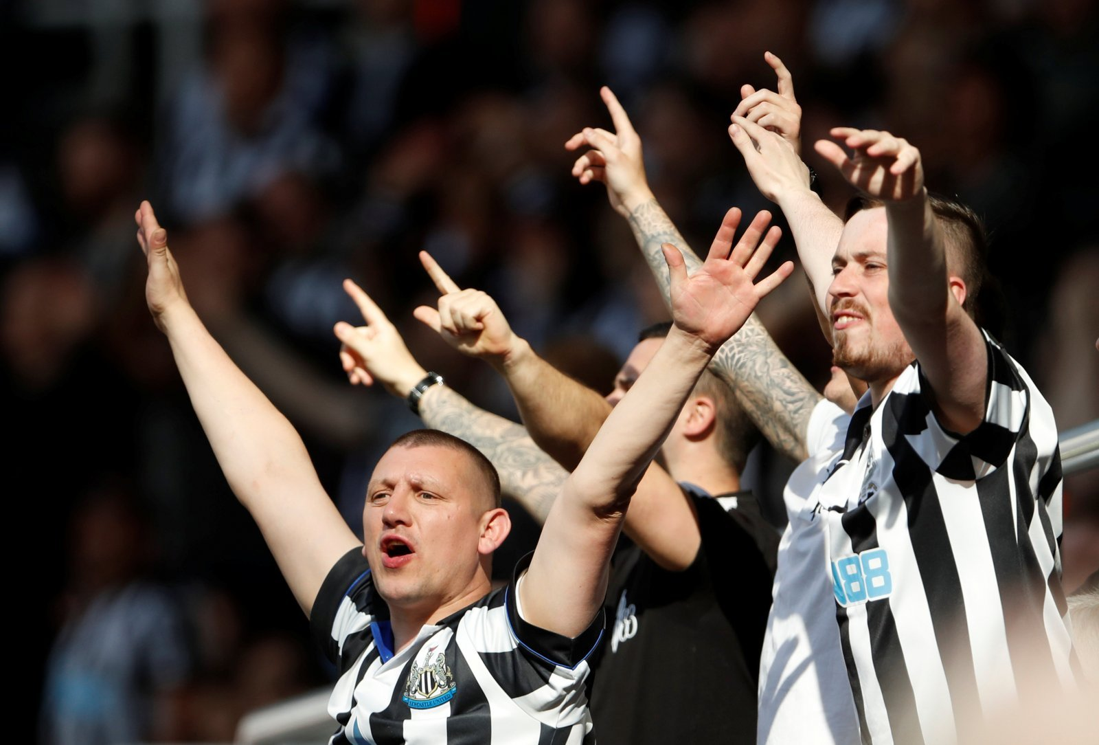Newcastle United: These fans respected the performance in Liverpool loss