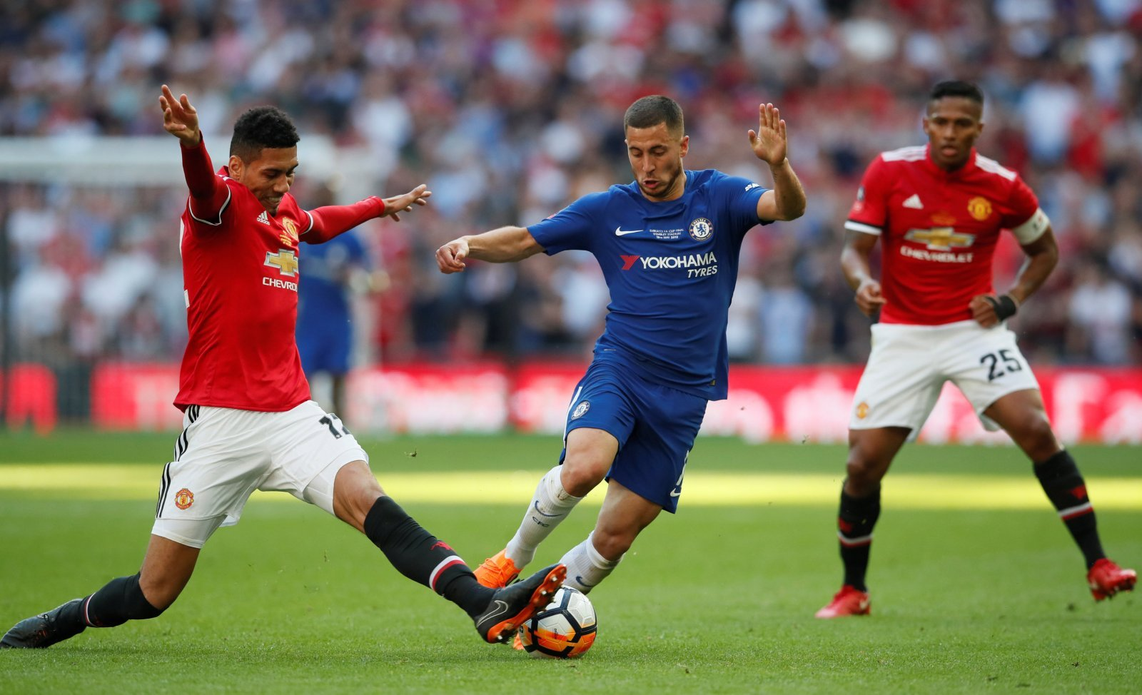 Chris Smalling deal would be a sideways move from Everton