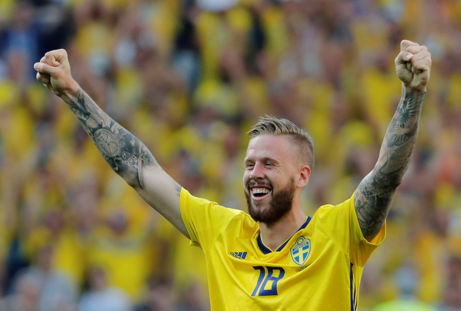 Leeds fans desperate to see Jansson win fans player of the month