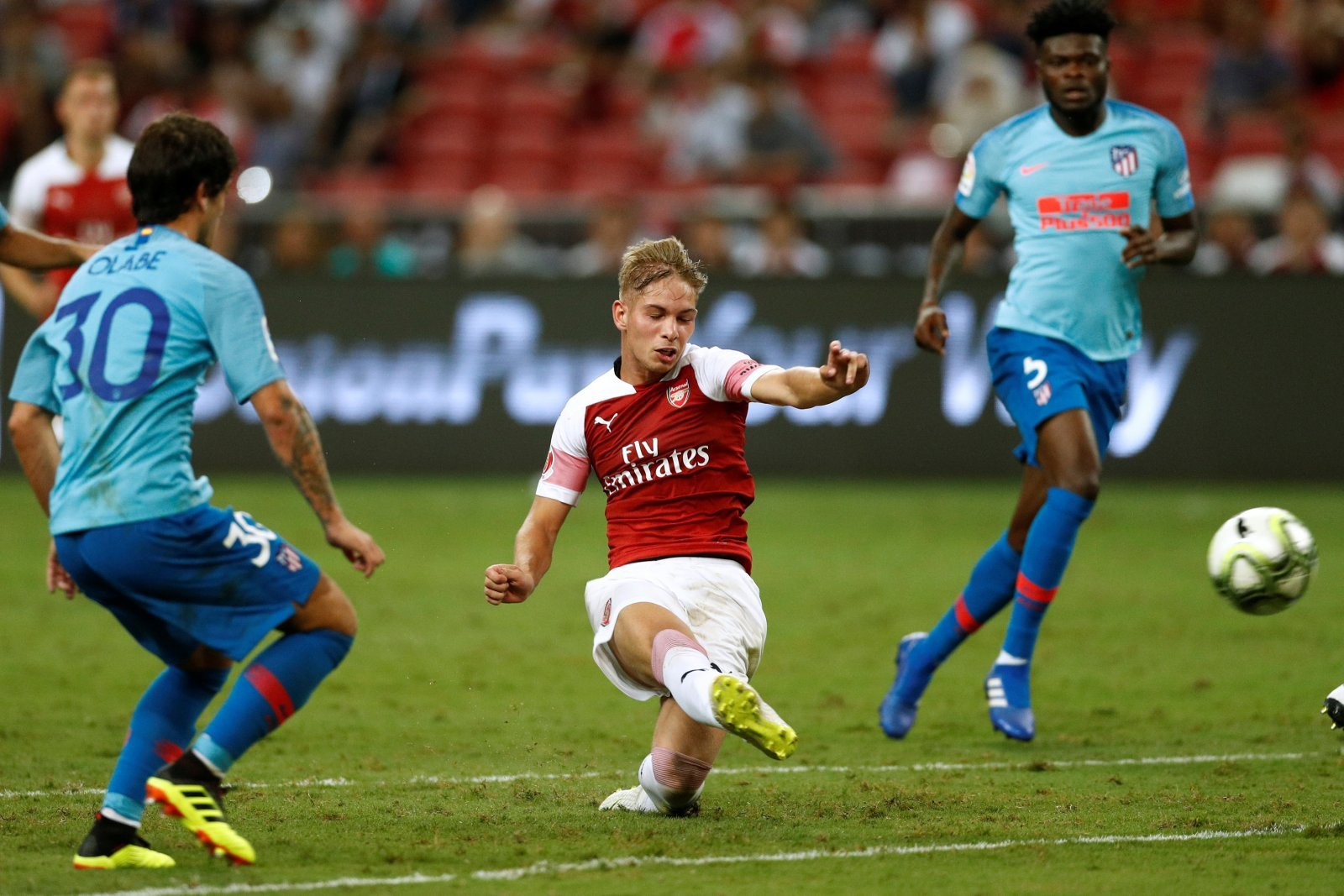 Emile Smith-Rowe's appearance has gotten Arsenal fans excited