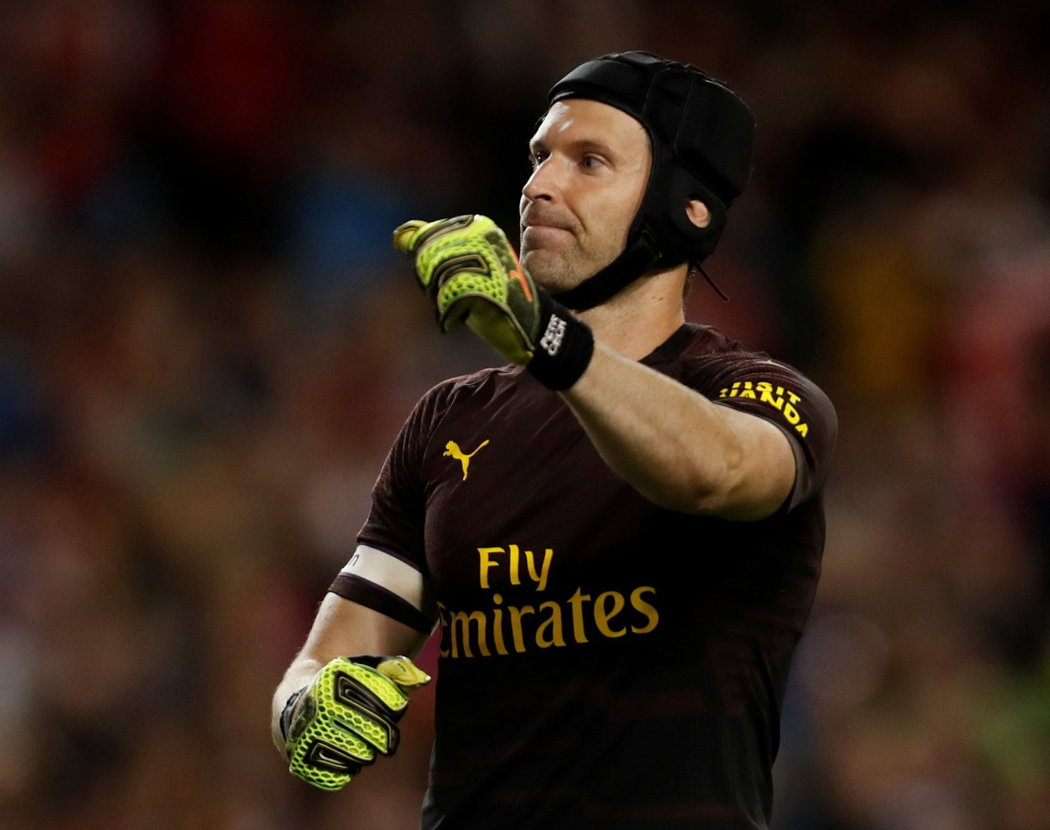 Arsenal fans on Twitter shocked by Cech's position in player of the month vote