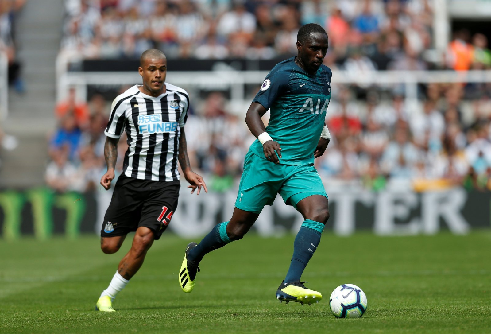 Tottenham fans want to see Moussa Sissoko depart the club