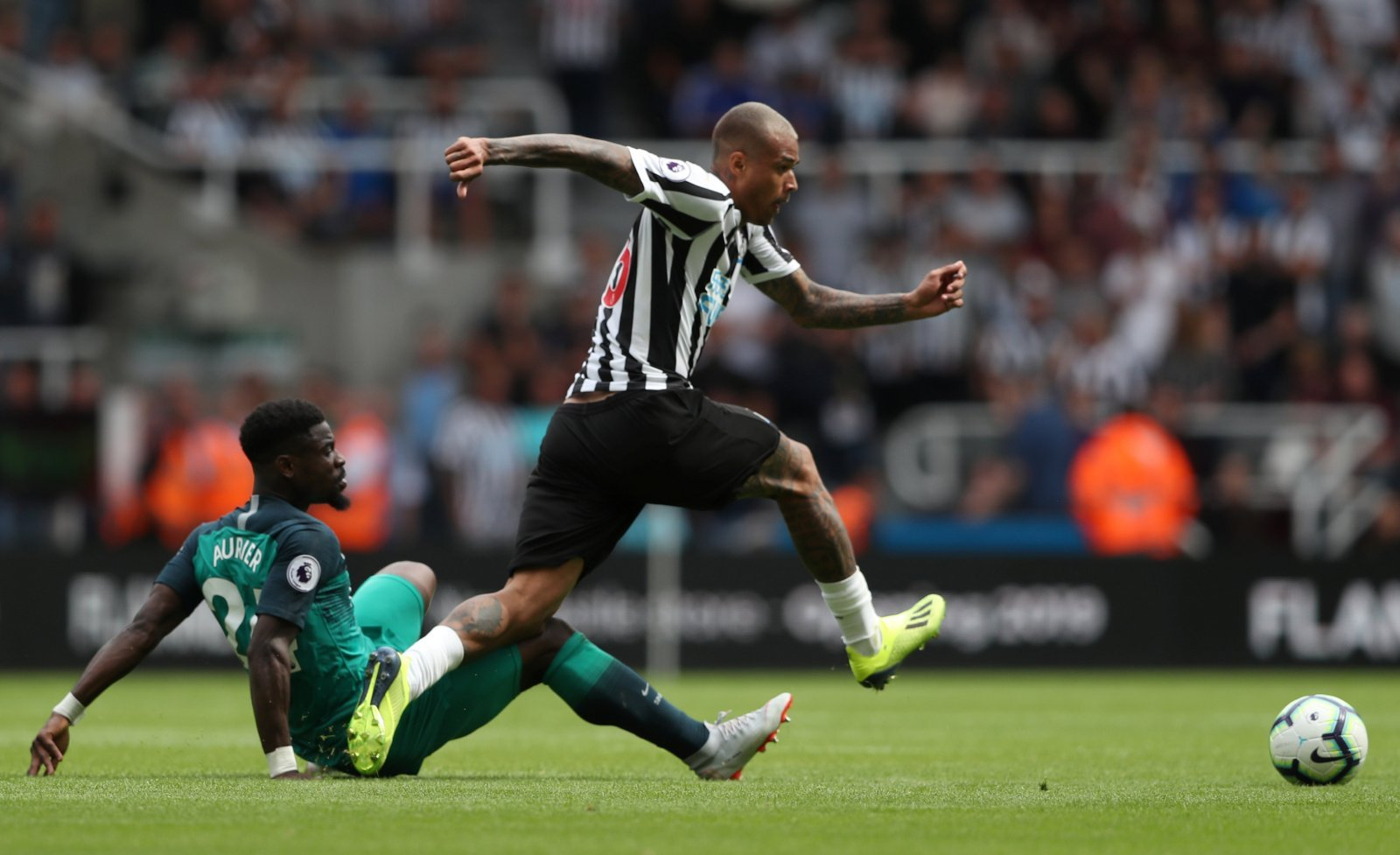 Some Newcastle fans are wrong: Kenedy will come good despite testing start to season