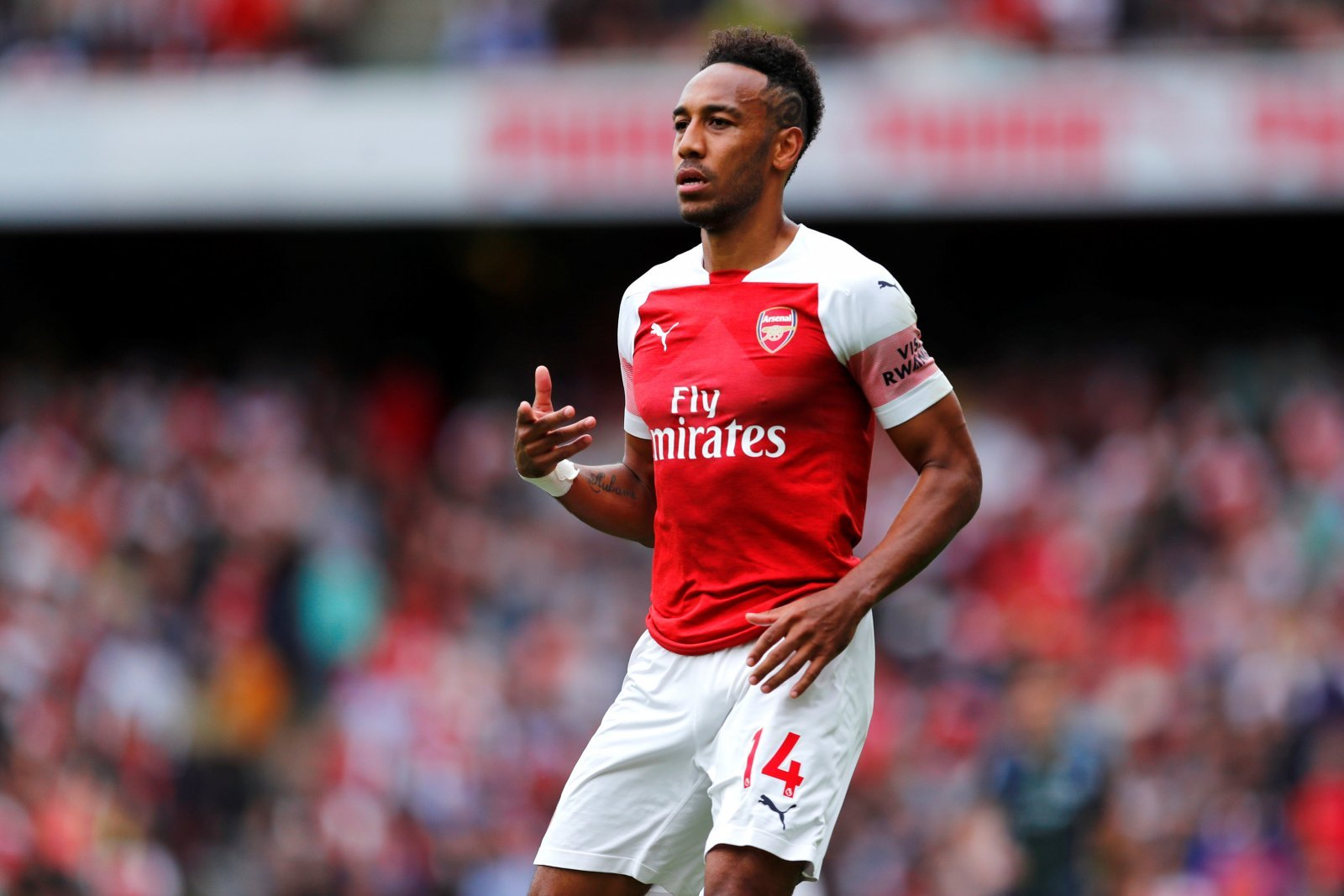 Arsenal fans are demanding the same thing from Pierre-Emerick Aubameyang vs Bate