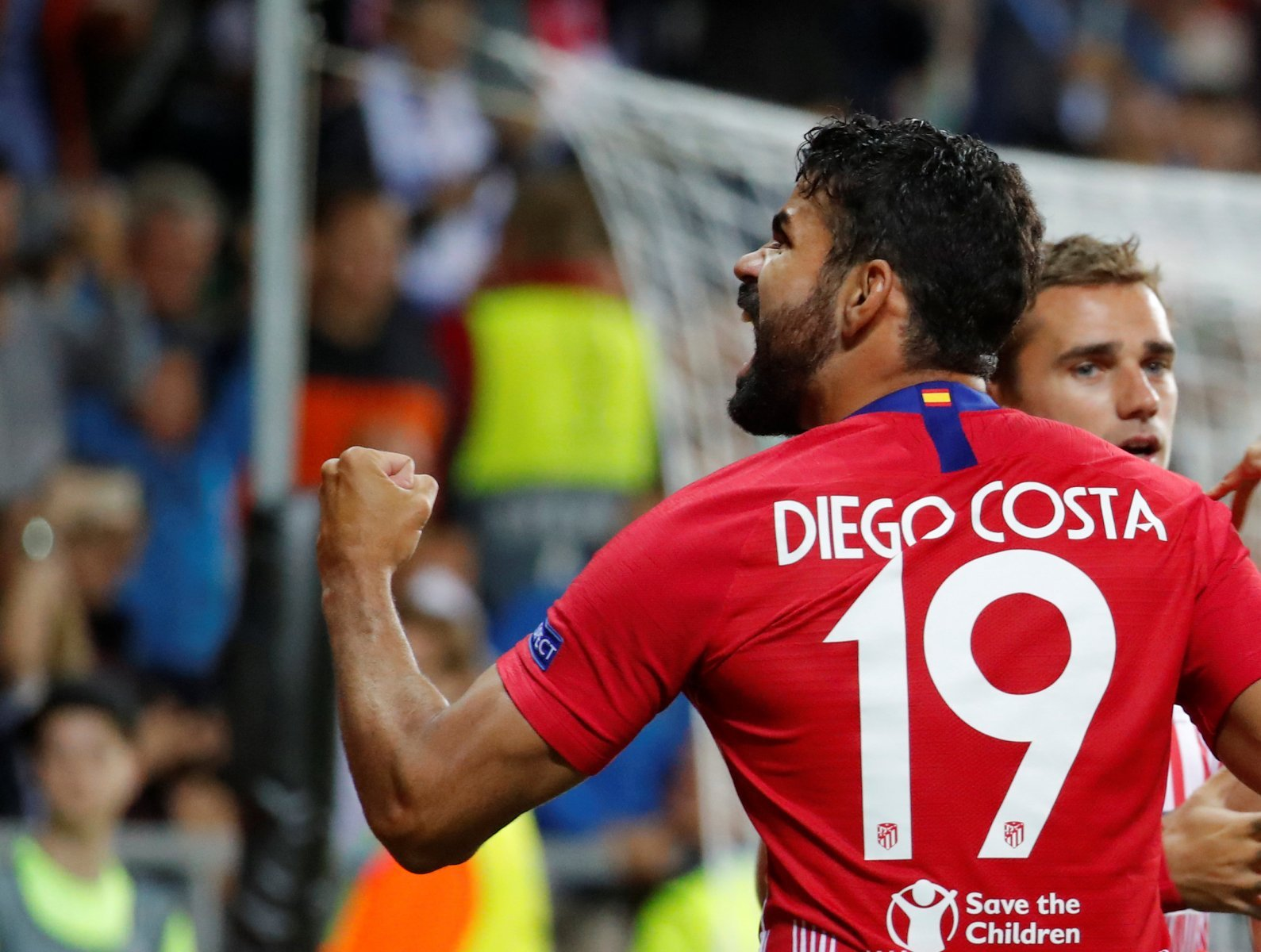 Chelsea fans are loving Diego Costa after Super Cup display