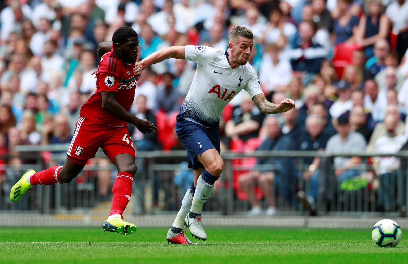 Toby Alderweireld not thinking about Tottenham deal