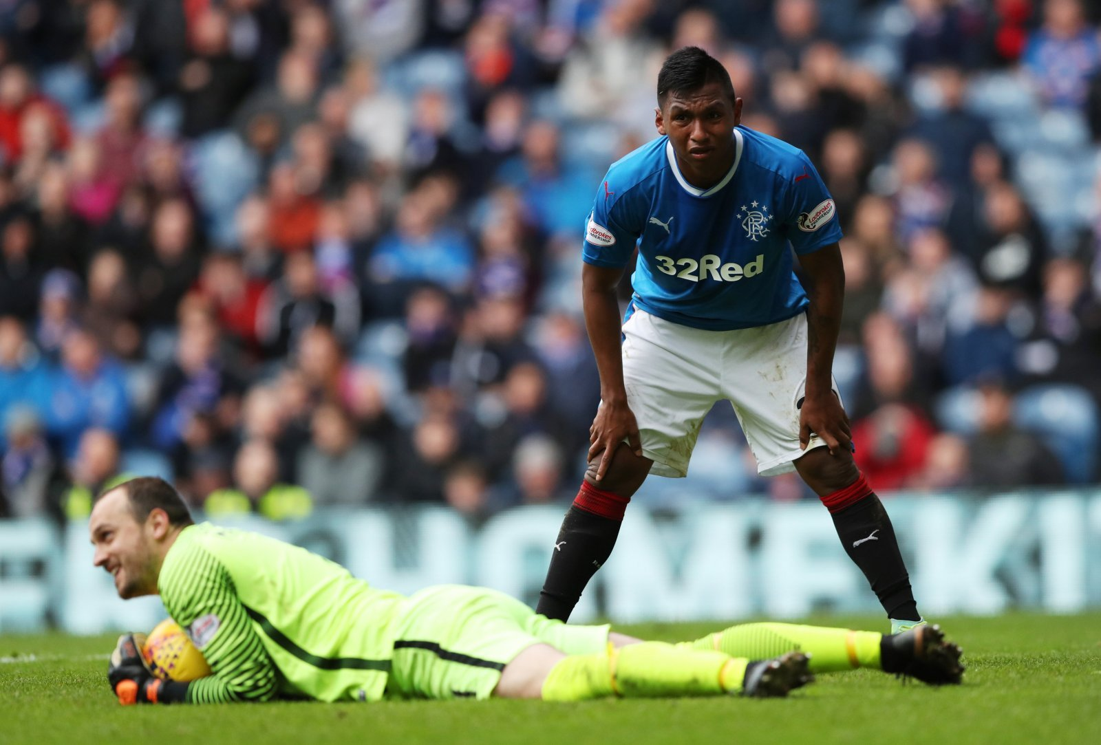 Alfredo Morelos is one man that Rangers fans won't let go cheaply