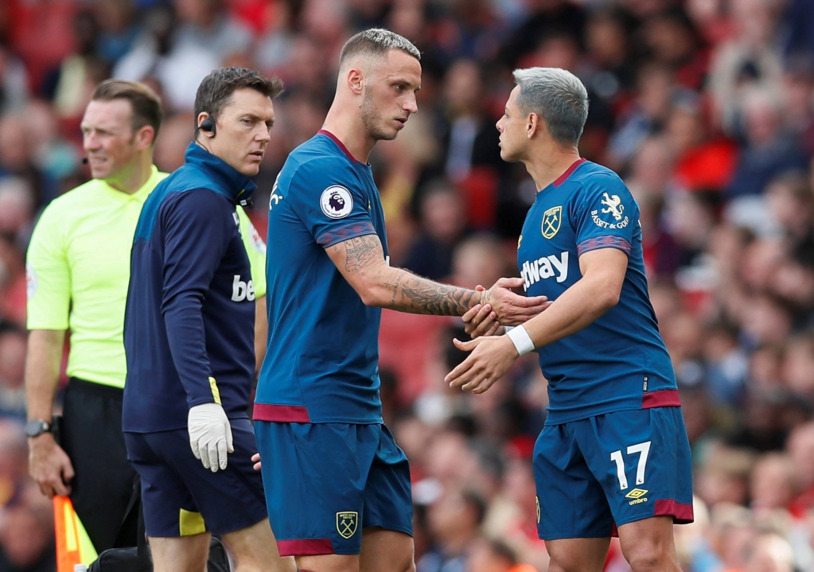 Injury to Marko Arnautovic could spell trouble for West Ham