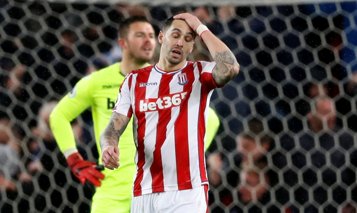 Stoke City fans react to Geoff Cameron's departure