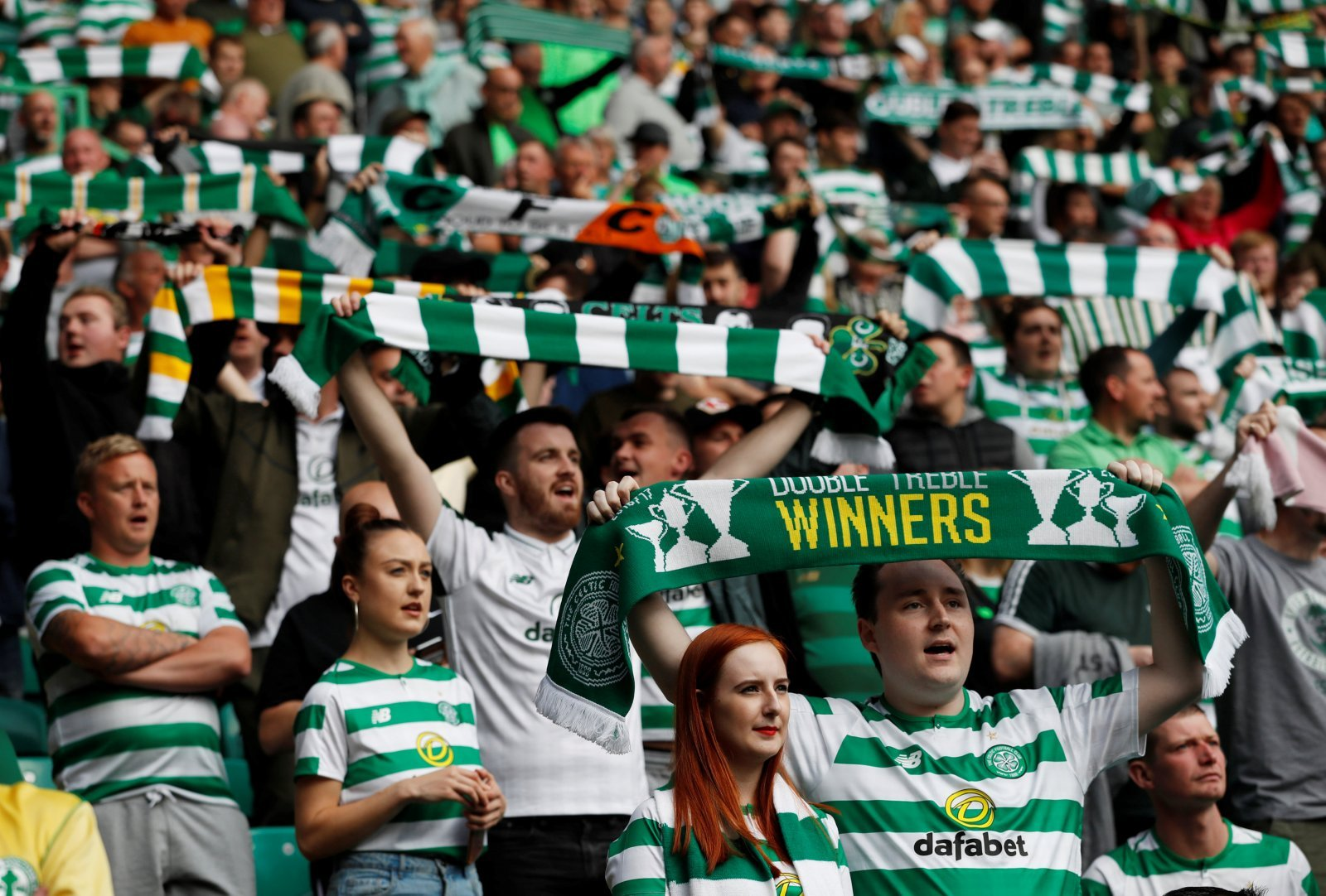 Celtic fans on Twitter keen to get back to winning ways against St Johnstone later