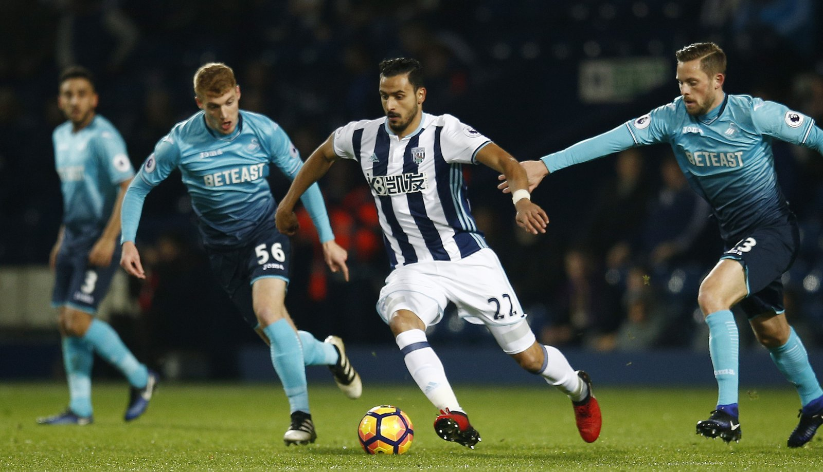 West Brom prepared to sell Nacer Chadli for right price