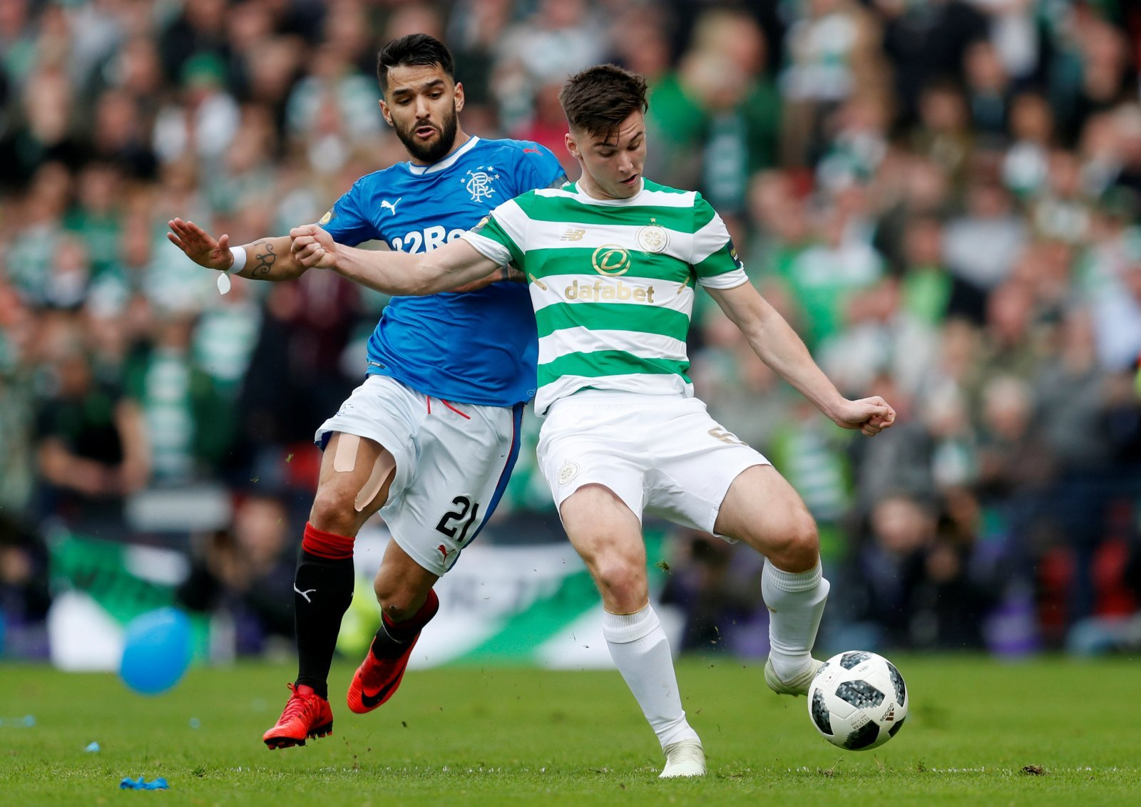 "Daniel Candeias claims Rangers fans ""best in the world"""