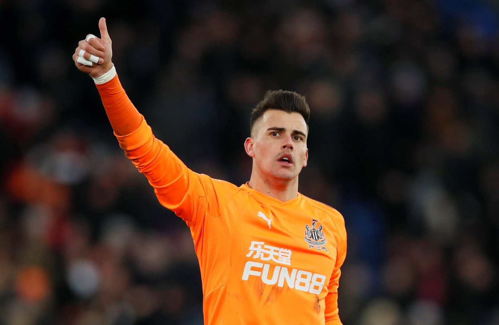 Karl Darlow keen on Leeds move