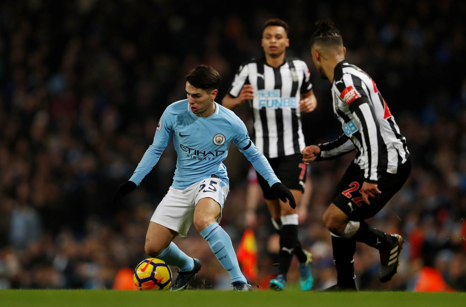 De Bruyne's injury could open the door for Brahim Diaz to stake claim for Man City spot