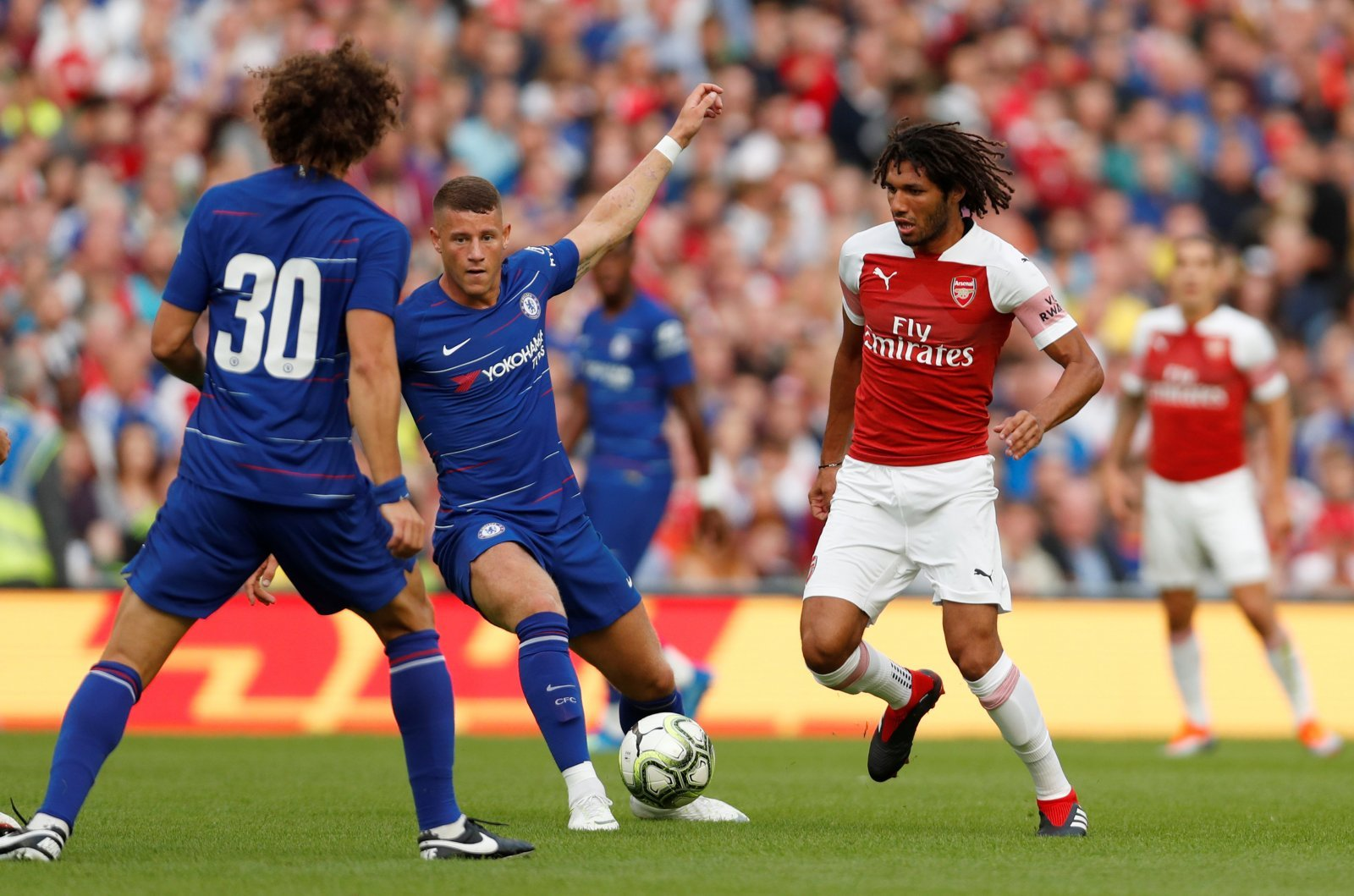 Arsenal cannot afford to let Elneny go after Xhaka's performance