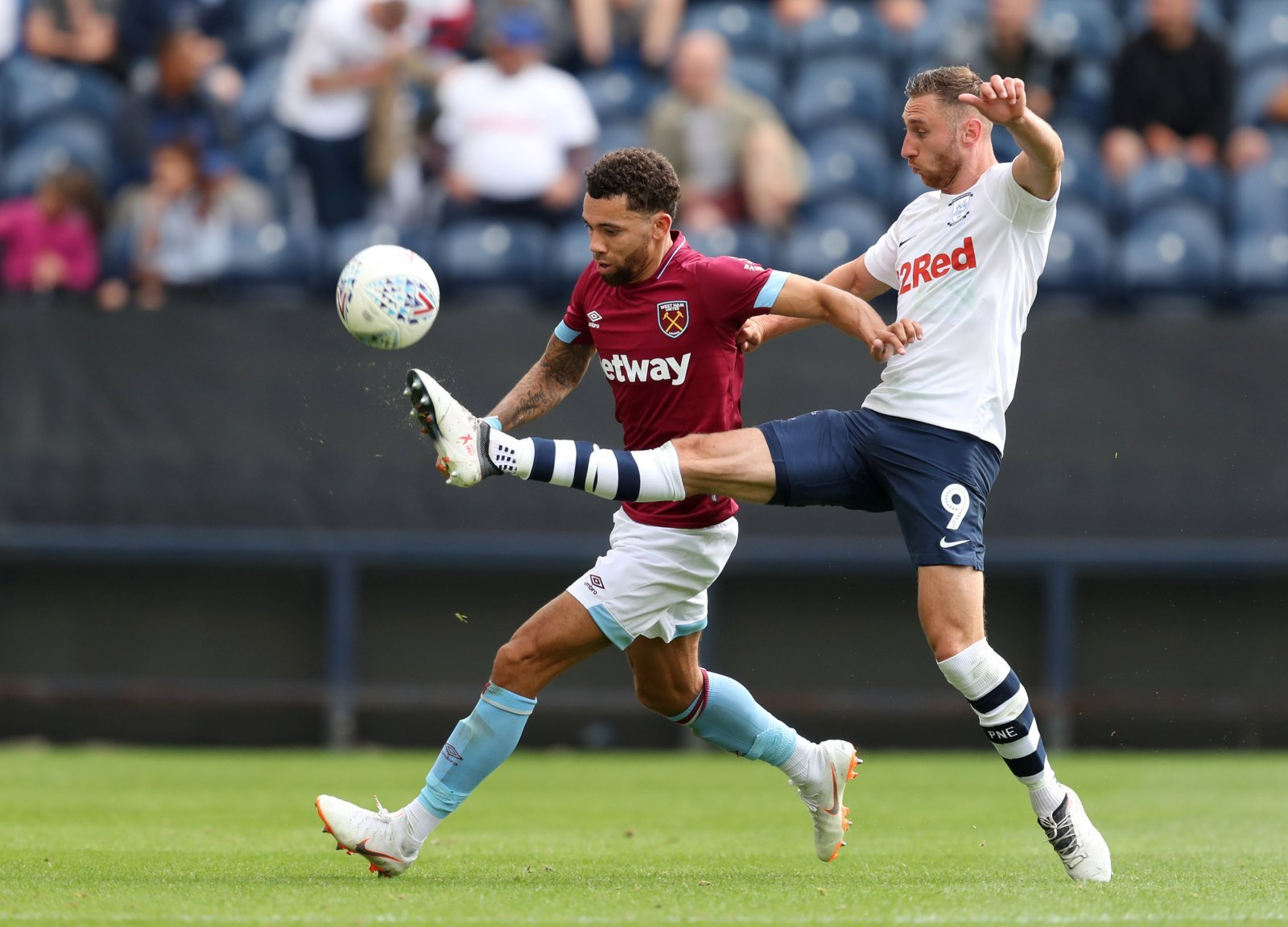West Ham fans take to Twitter to defend Ryan Fredericks after tough Palace clash