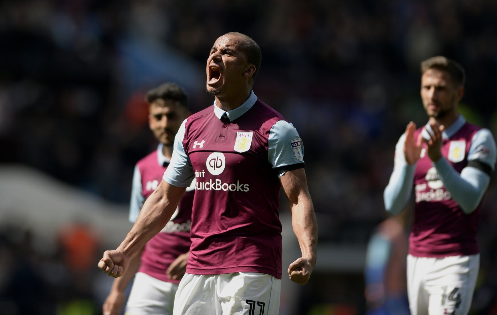 Villa fans pay tribute to Agbonlahor on the striker's birthday