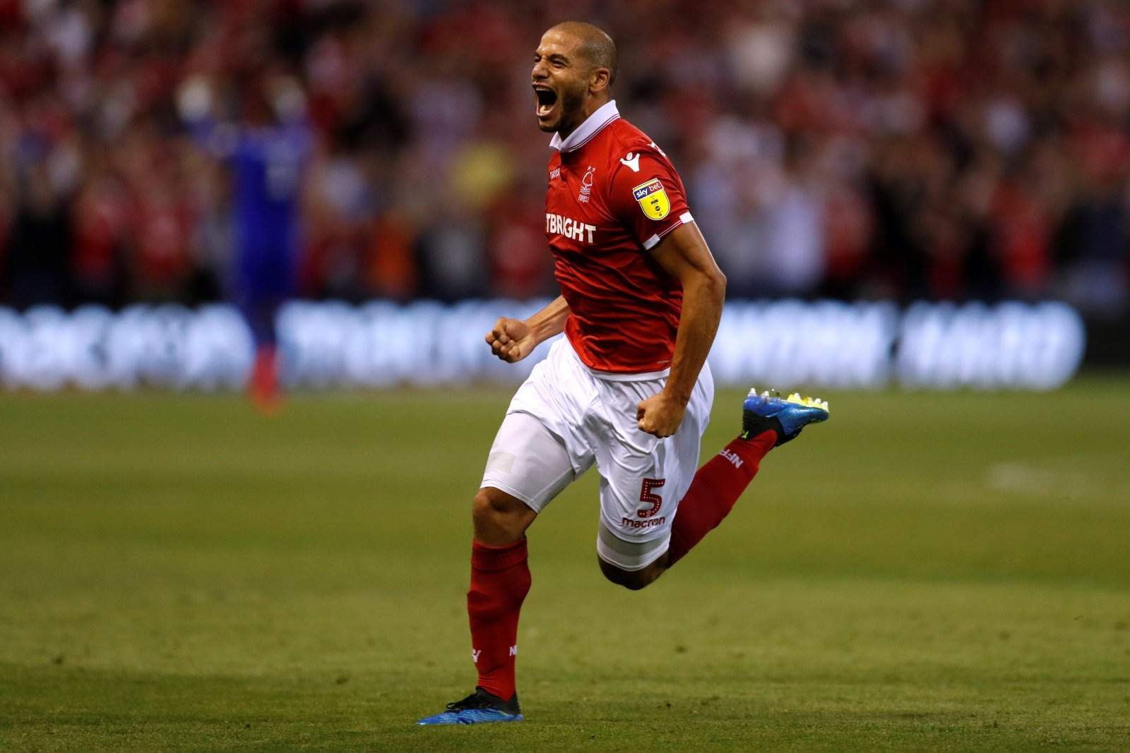 Adlène Guedioura's performance last night delighted Nottingham Forest fans