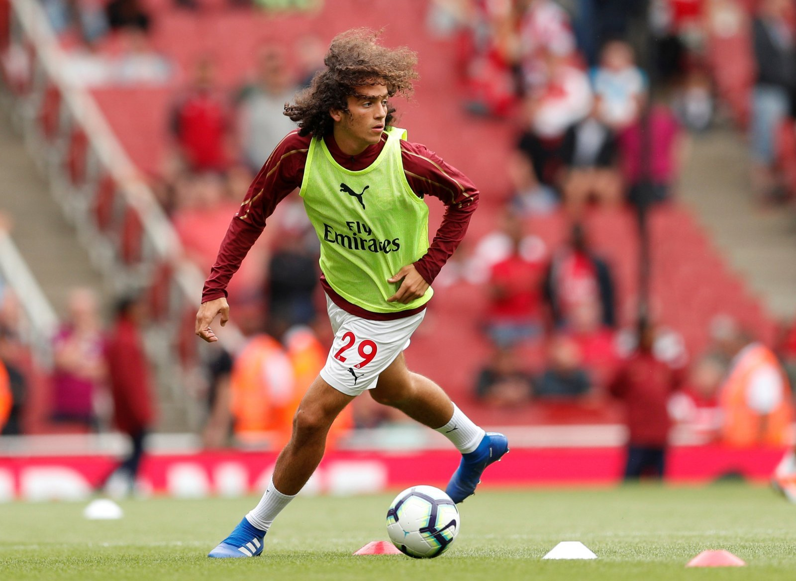 Arsenal fans took to Twitter to slam Guendouzi for costing them a clean sheet