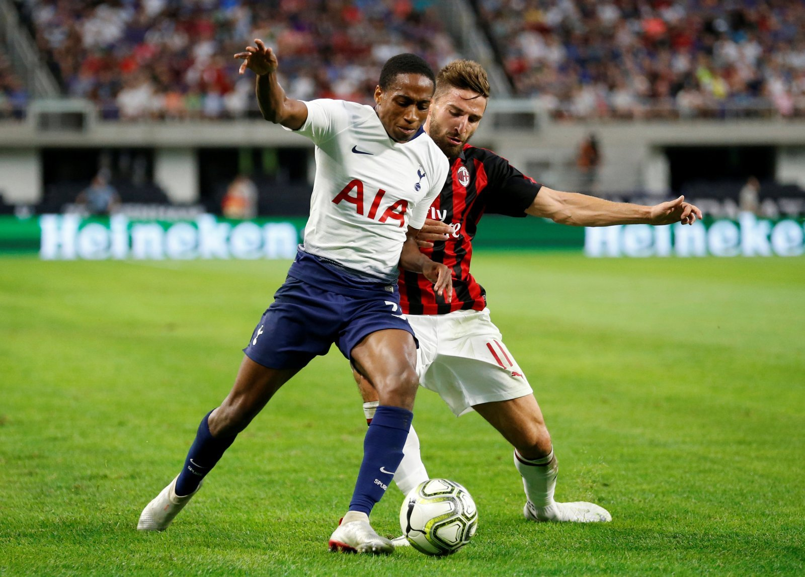 Kyle Walker-Peters will play a big role in Tottenham's new stadium