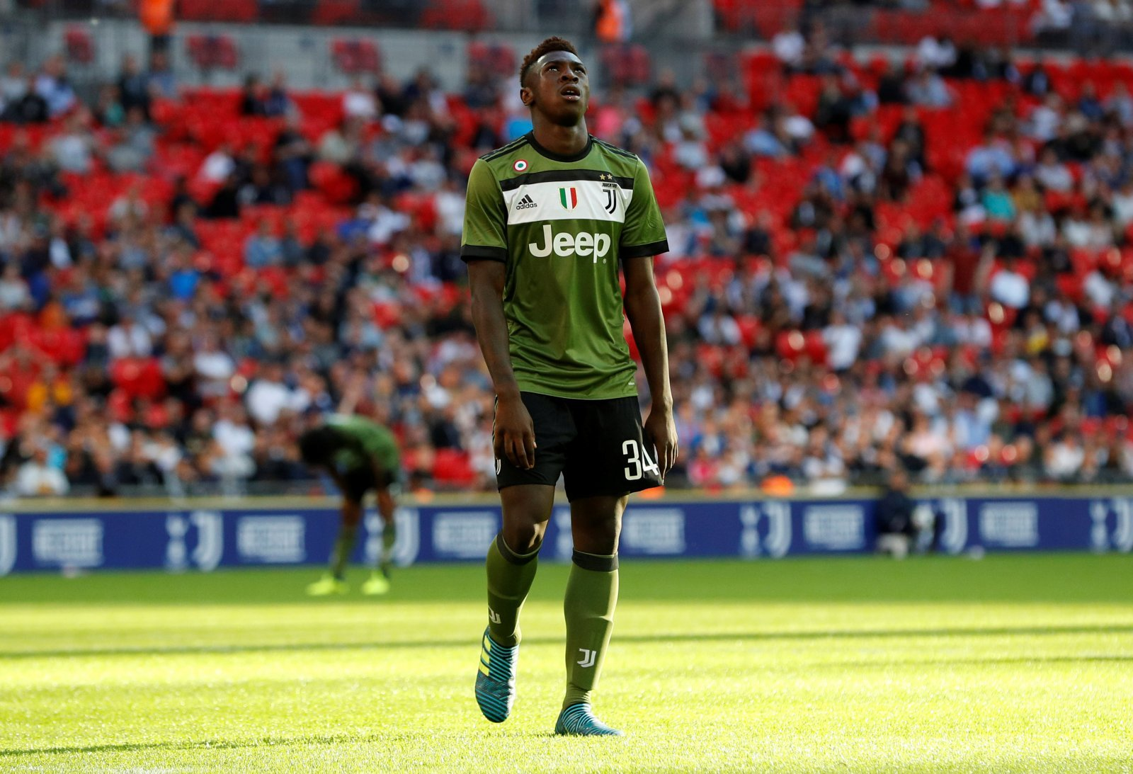 Moise Kean found the opportunity to play for Leeds 'tempting'