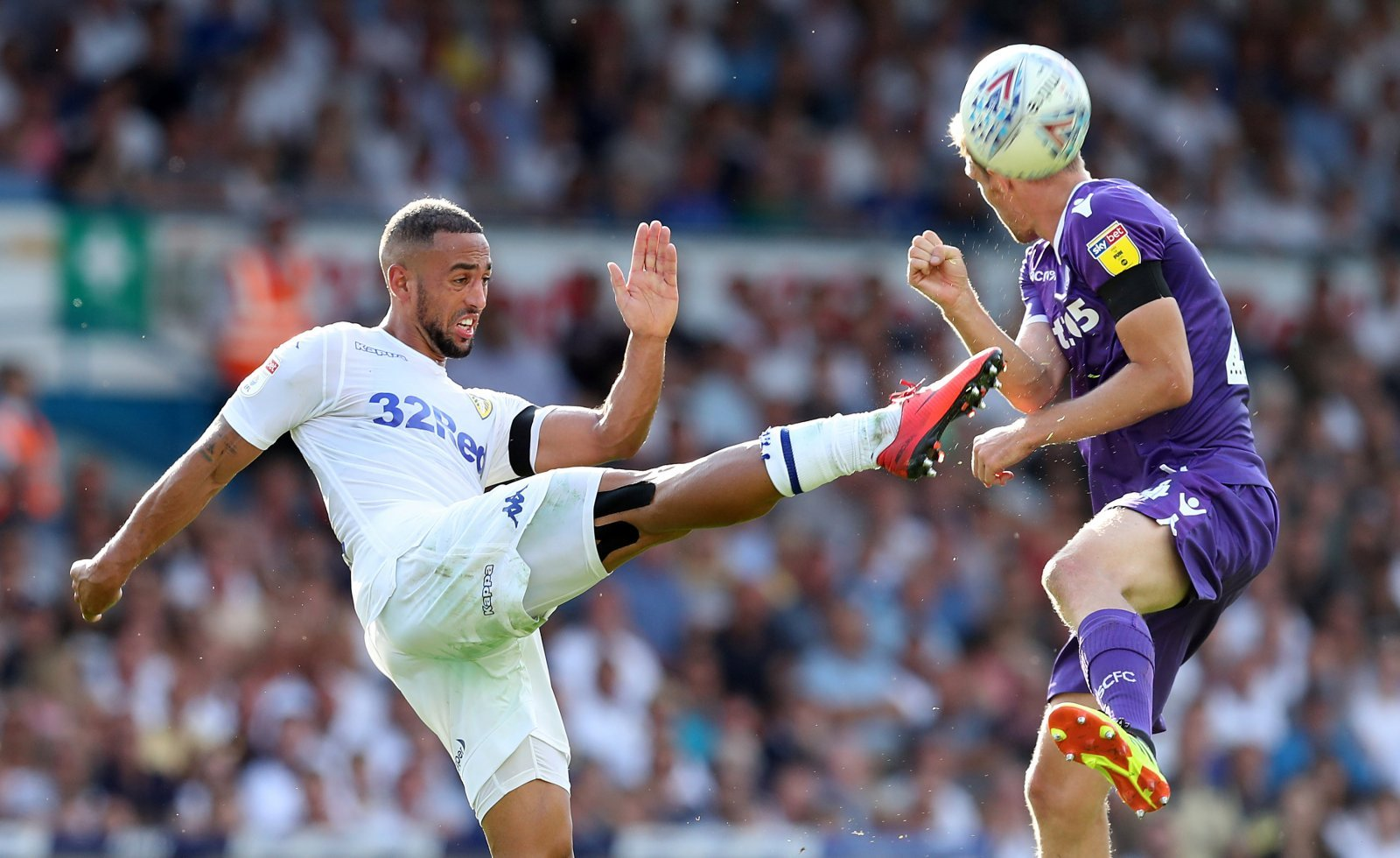 It's a big season for Kemar Roofe at Leeds United