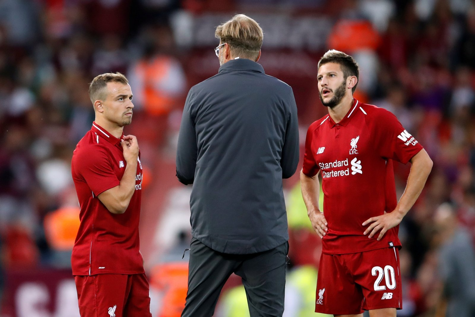Klopp made a mistake by not offloading Adam Lallana