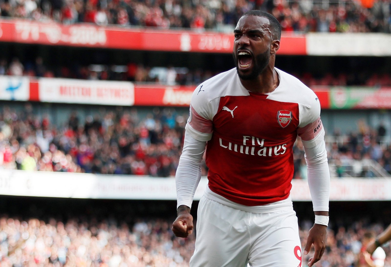 Arsenal fans on Twitter were in awe of Lacazette's brilliant Cardiff display