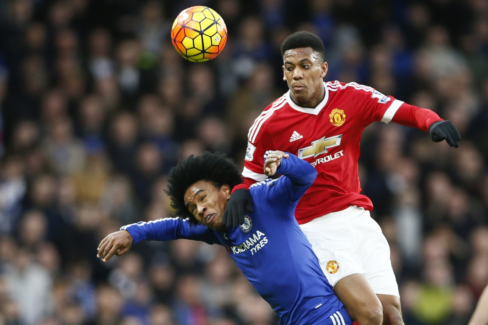Swapping Willian for Anthony Martial would be Chelsea's best transfer move in years