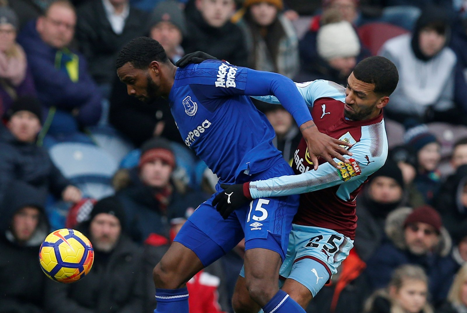 Many Everton fans are glad to see Cuco Martina join Stoke City