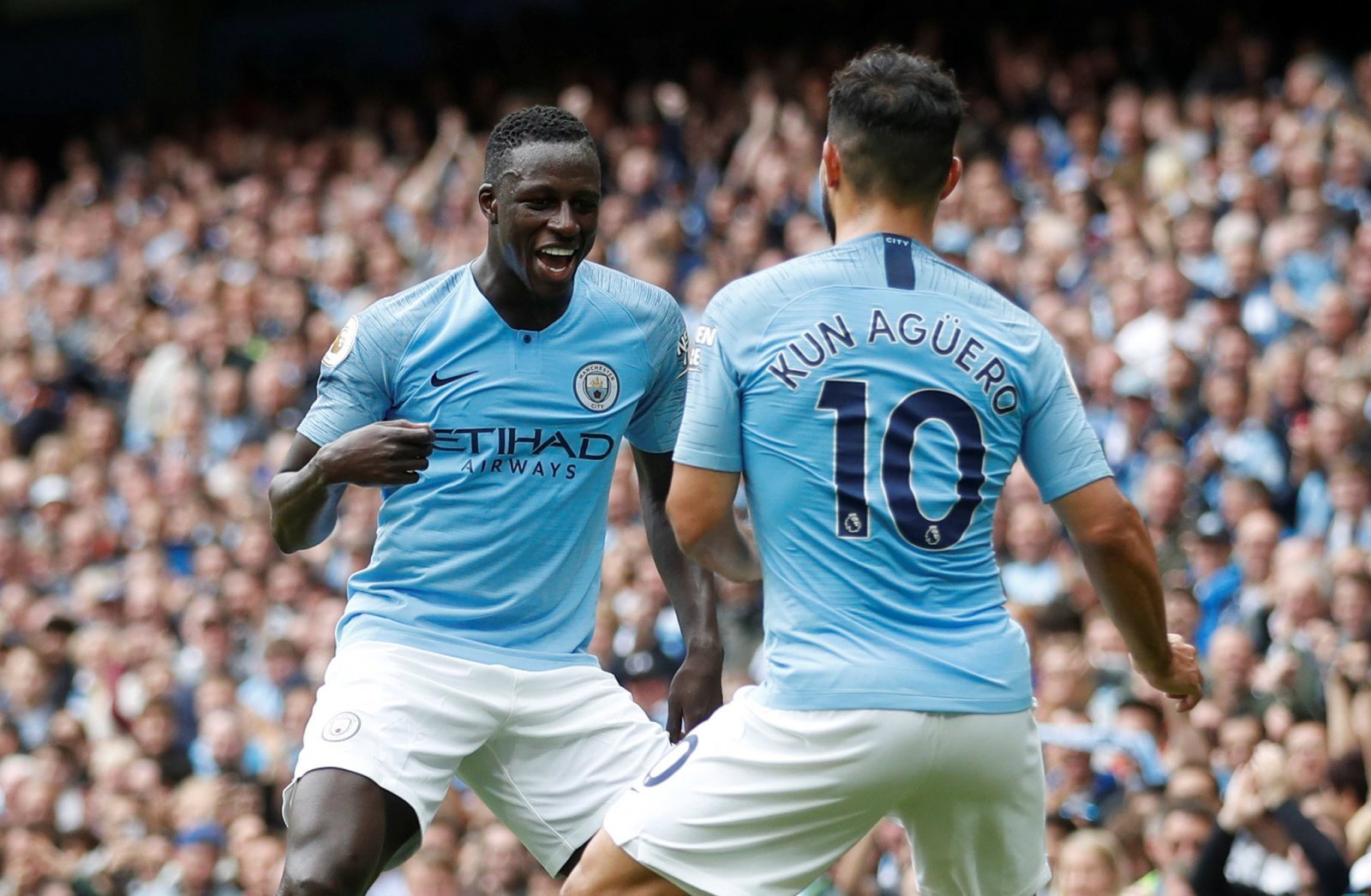 Benjamin Mendy is showing exactly what Manchester City missed last season
