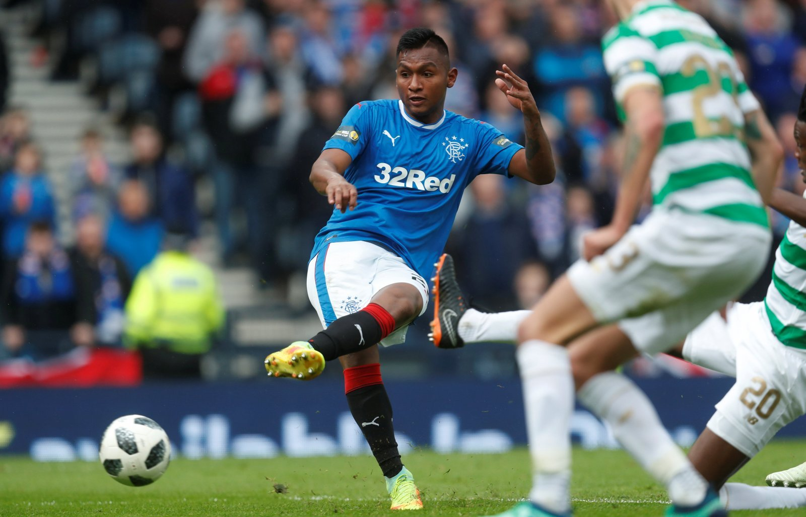 Dyanmo Kiev set to test Rangers over Alfredo Morelos