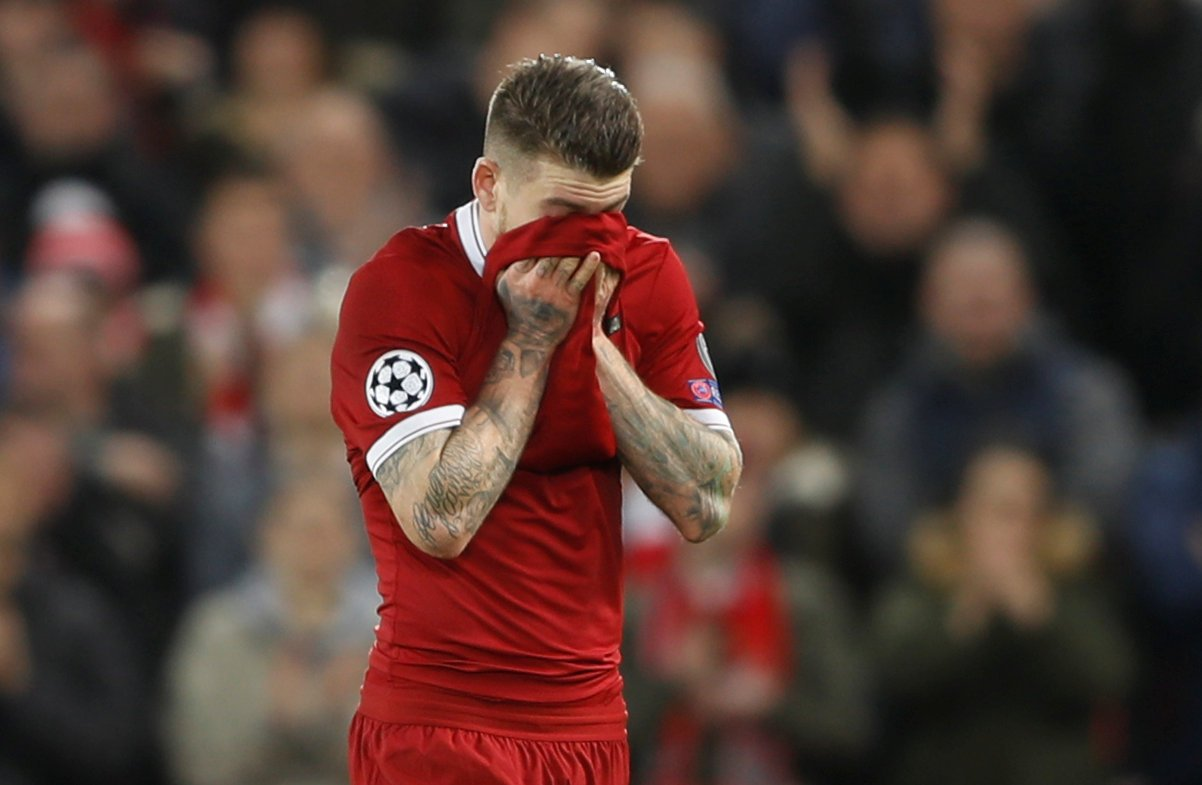 Liverpool fans really regret signing Alberto Moreno