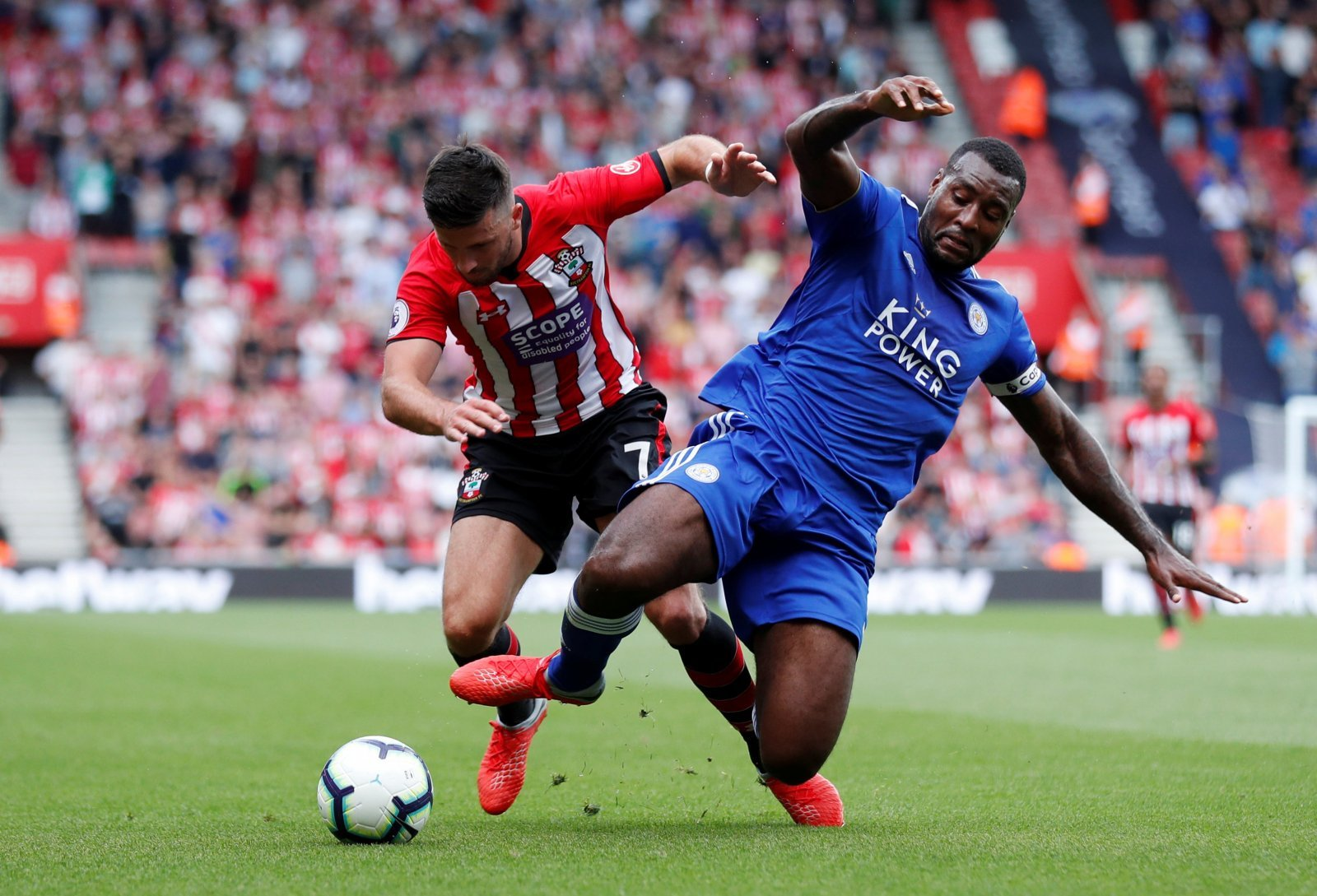 Gray and Maguire netted for Leicester, but Morgan was their unsung hero against Southampton