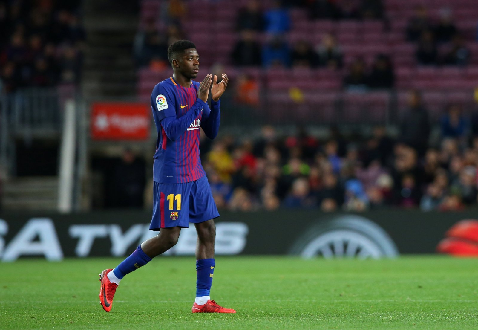 Arsenal fans on Twitter aren't all keen to sign Ousmane Dembele