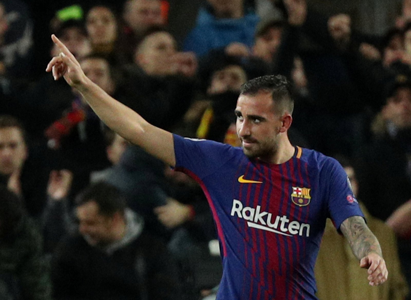 Hijack: Newcastle should battle it out to land Alcacer on a loan deal