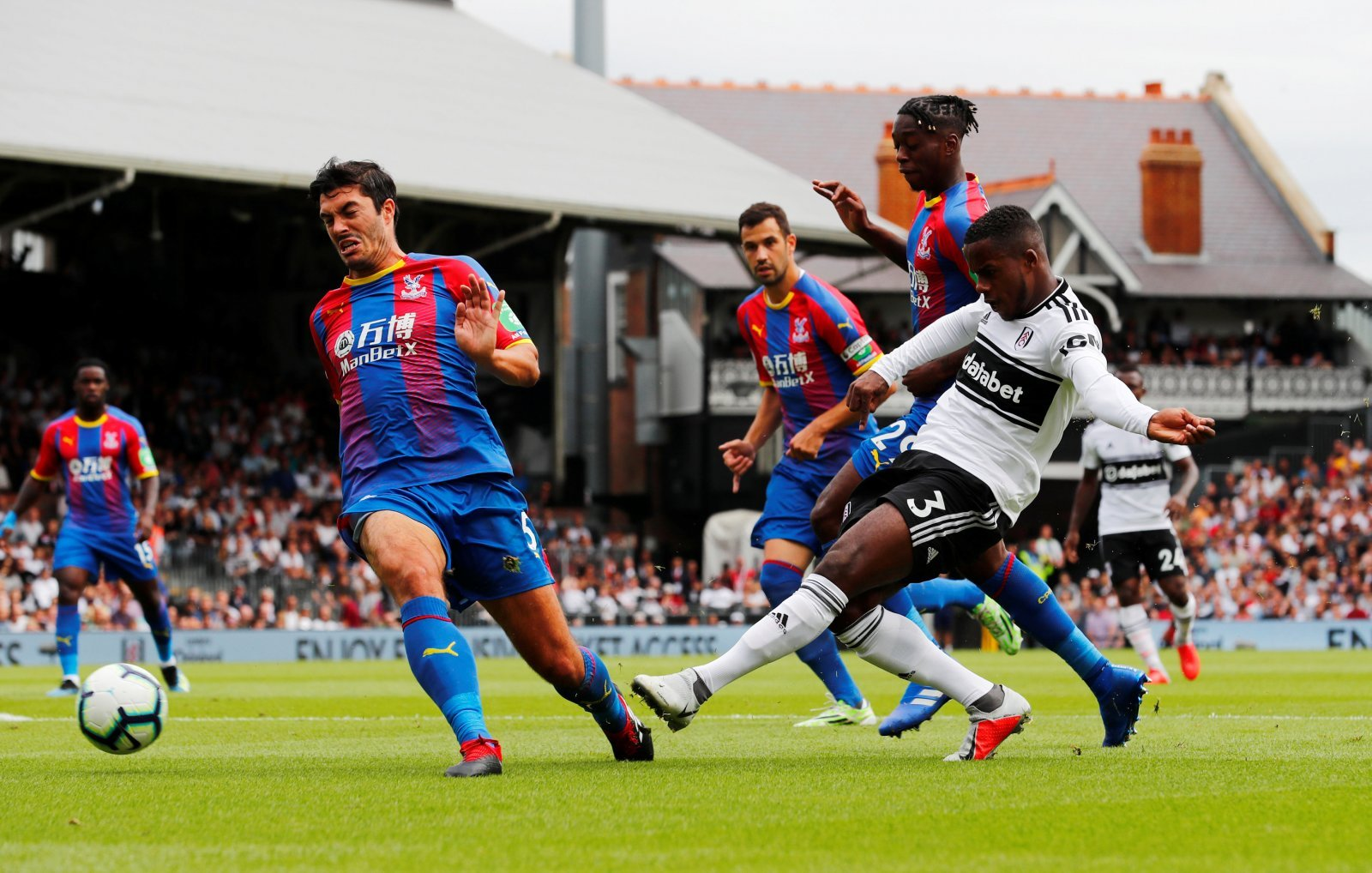 James Tomkins was Crystal Palace's unsung hero in victory at Fulham
