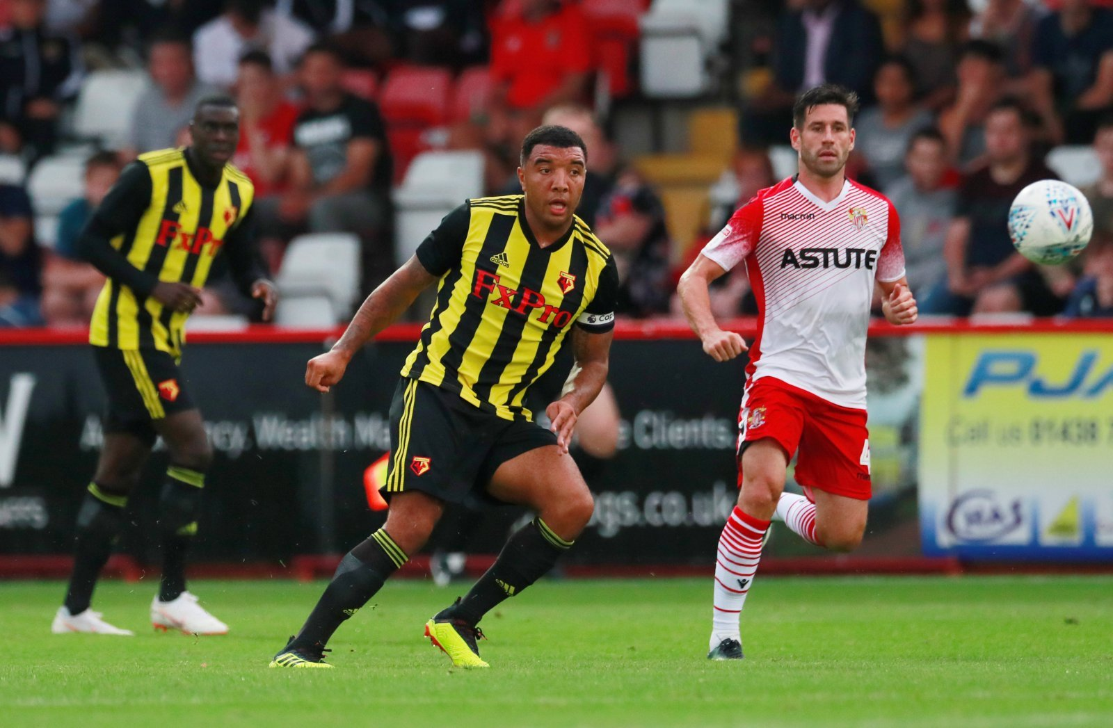 Watford: Fans react after 'good day' for Troy Deeney