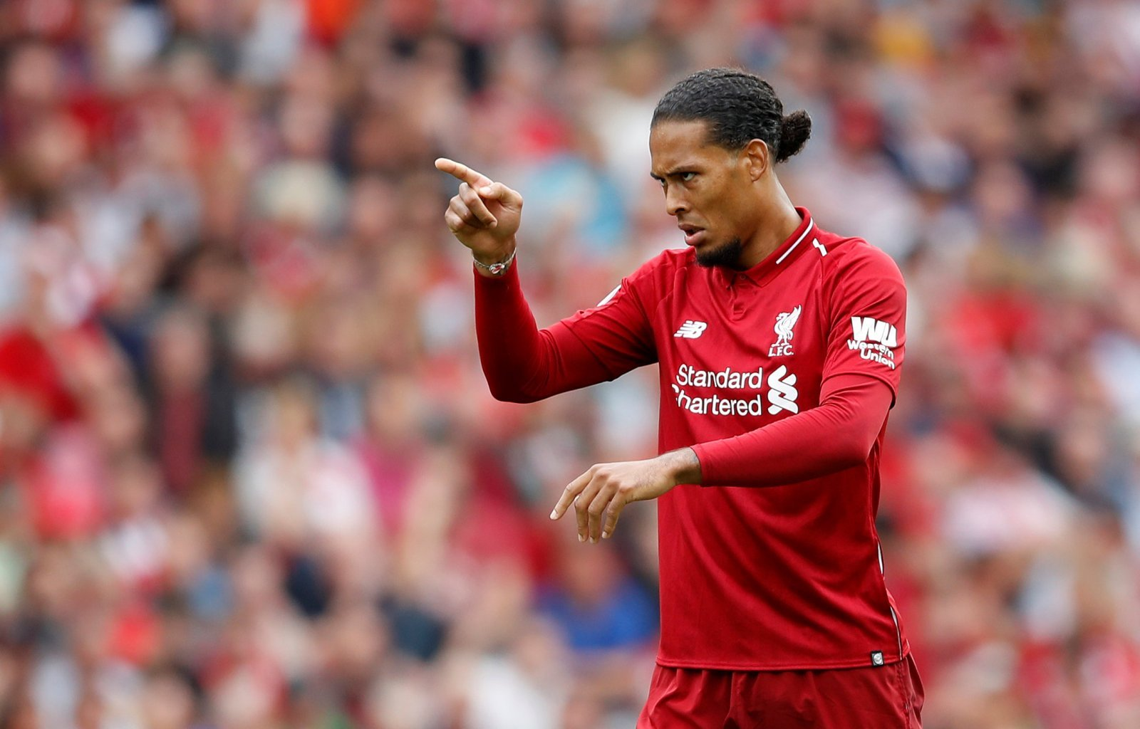 Virgil van Dijk showed against Crystal Palace why Liverpool paid £75m to sign him