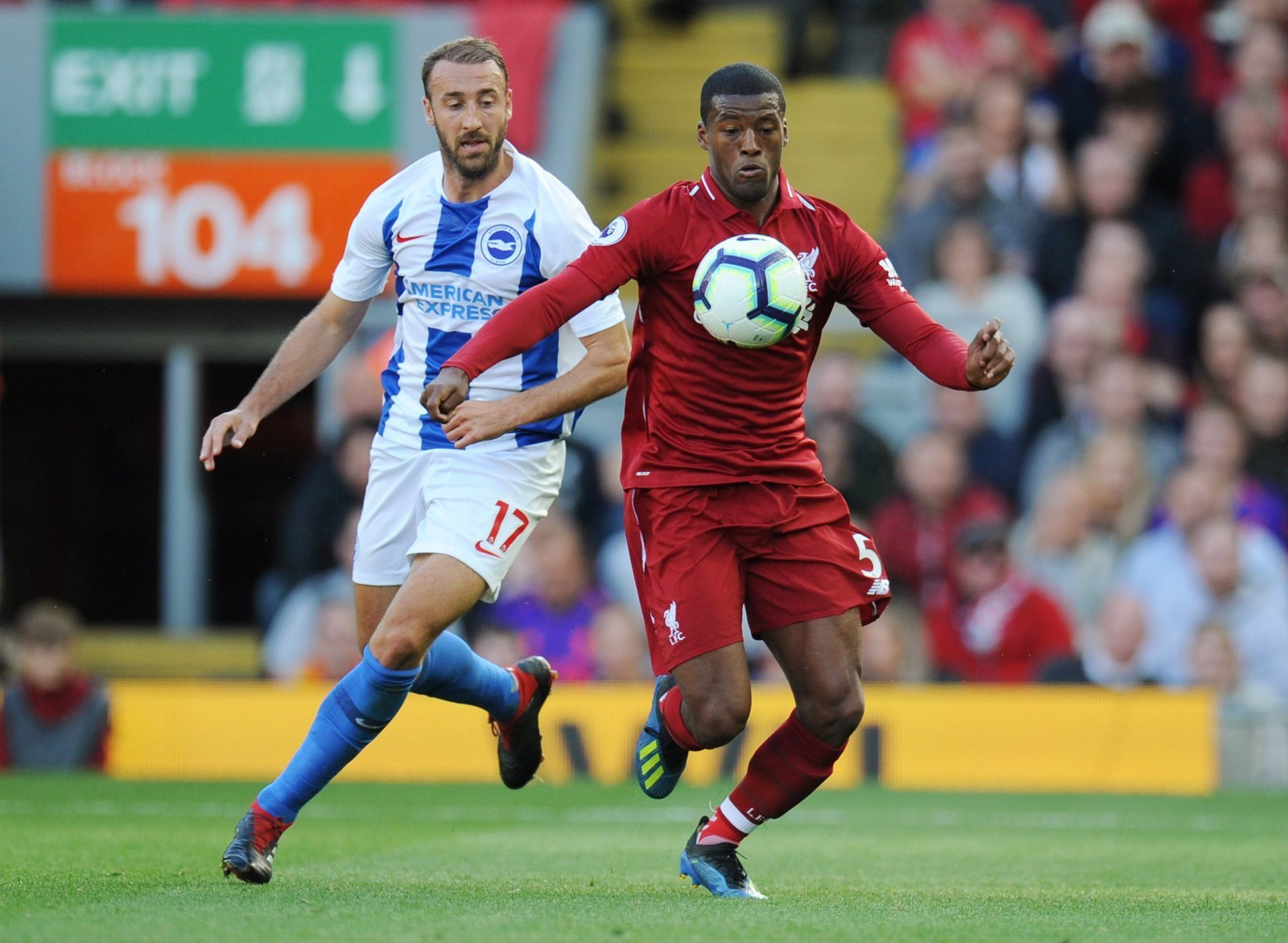 Salah may have scored for Liverpool, but Wijnaldum was their unsung hero in Brighton win
