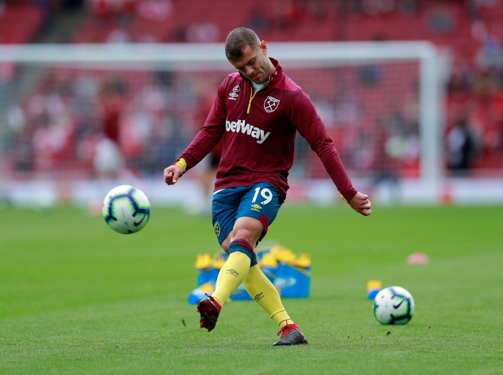 Jack Wilshere being monitored ahead of Everton trip
