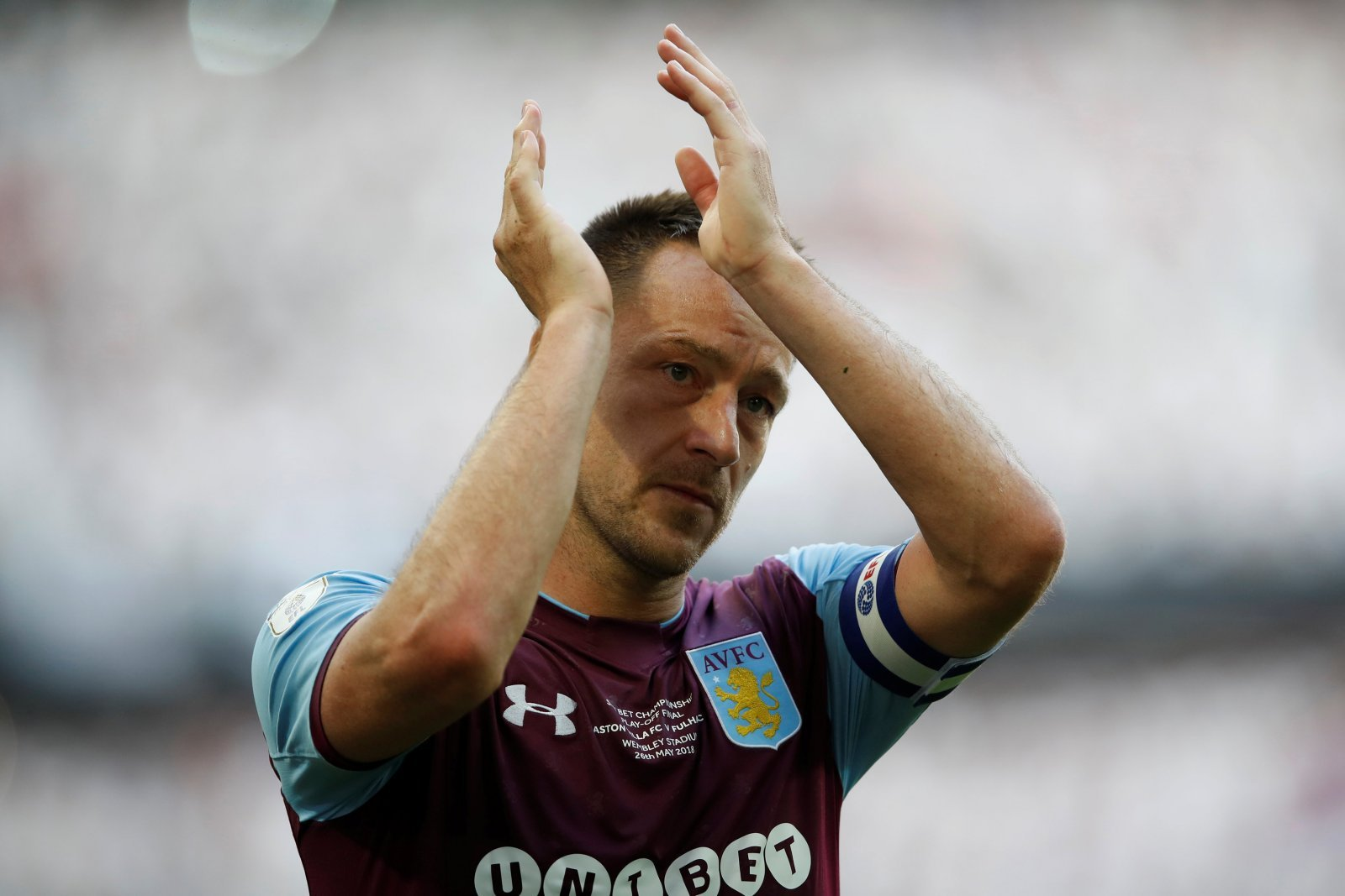 No thanks: 57% of polled Crystal Palace fans would be against the arrival of Terry