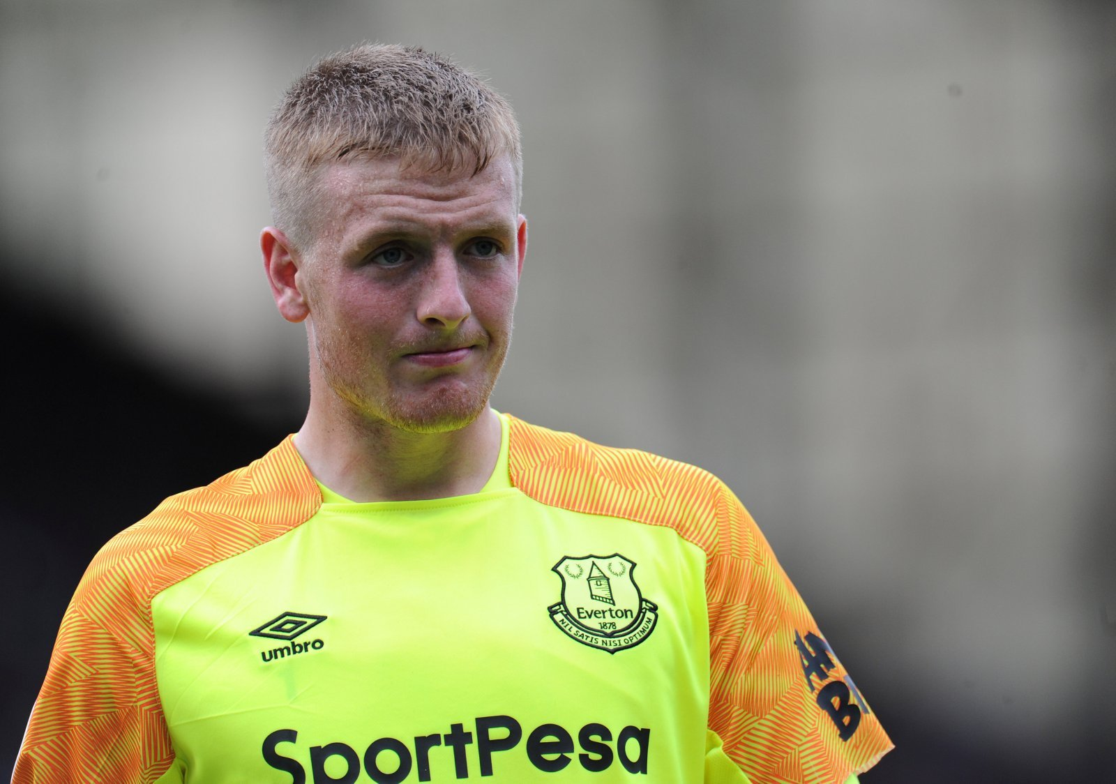 Jordan Pickford doesn't quite have the backing of a lot of Everton fans just yet