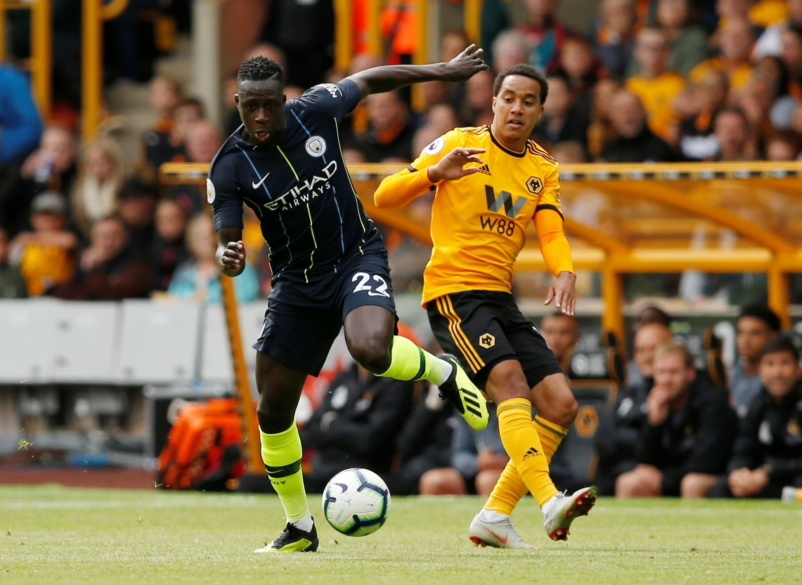 Leeds fans are loving Man City sensation Benjamin Mendy