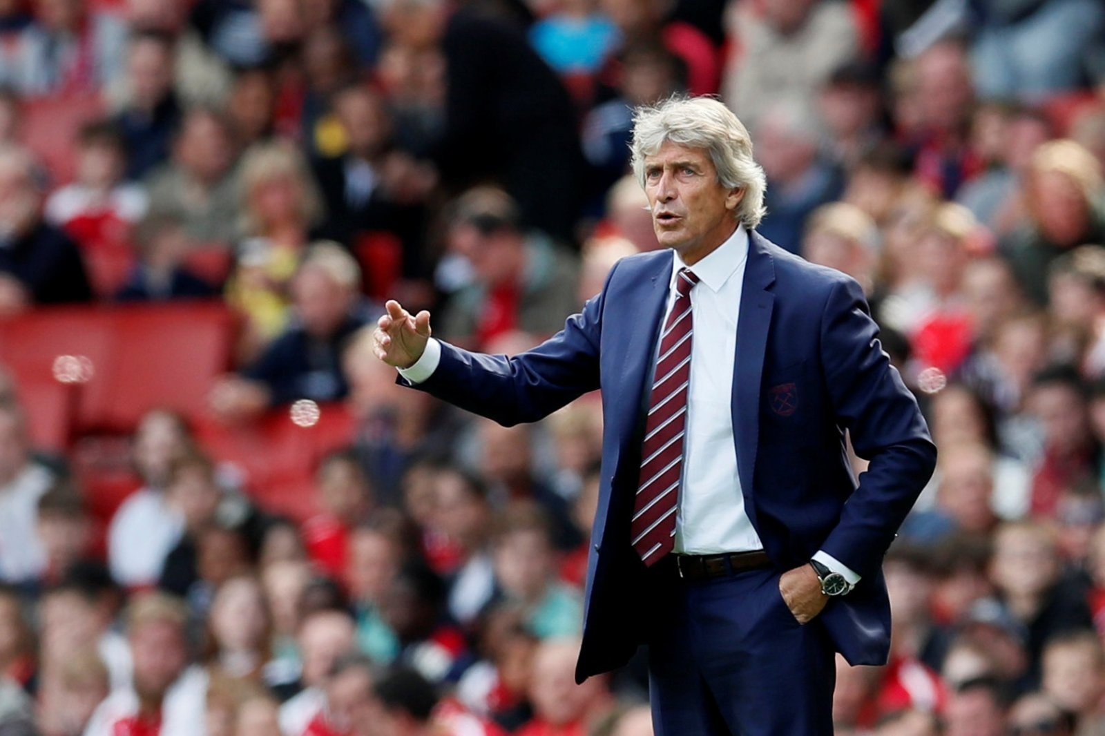 Manuel Pellegrini delighted with Grady Diangana's performance
