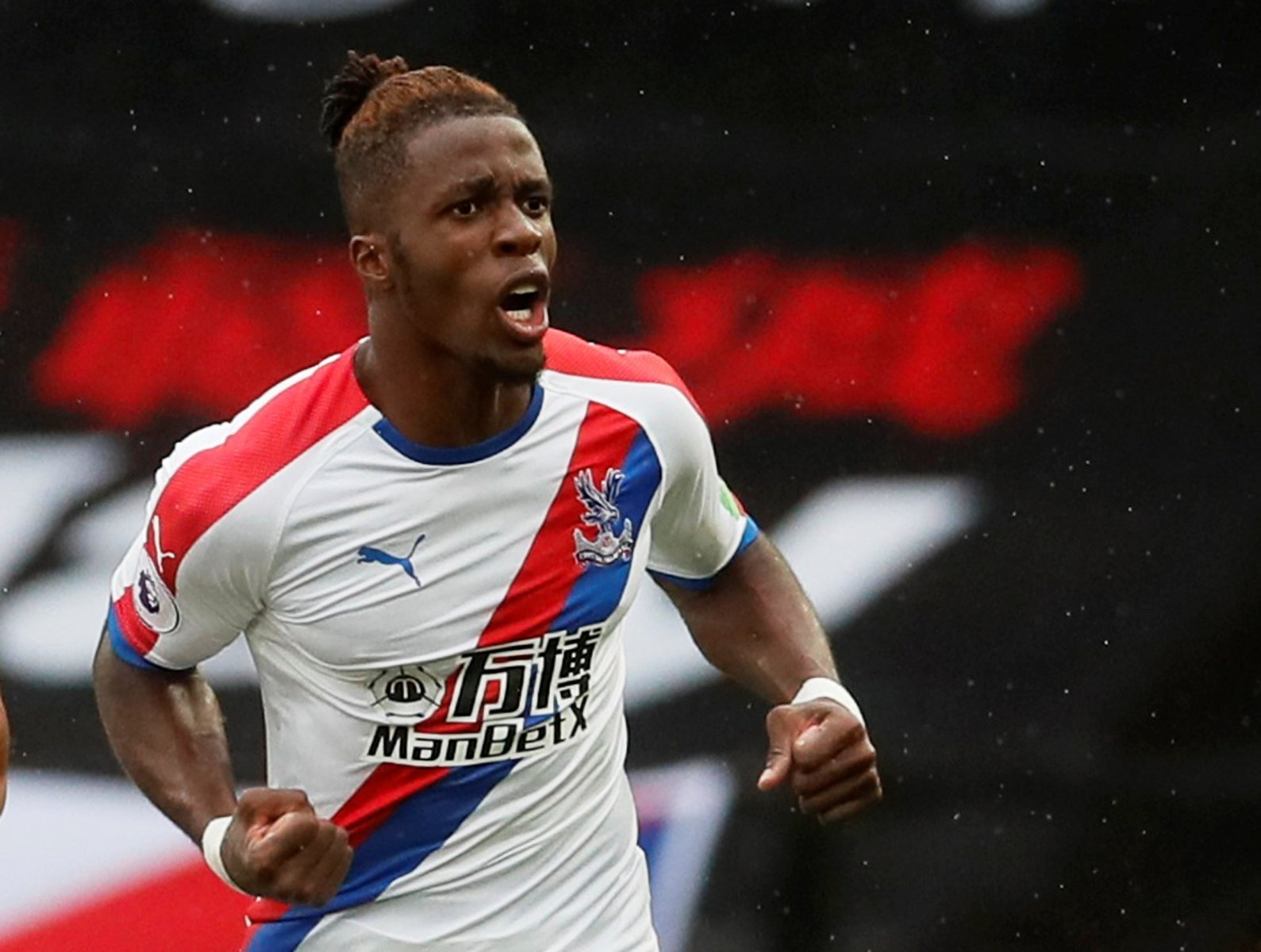 Arsenal fans on Twitter would love to see Wilfried Zaha signed