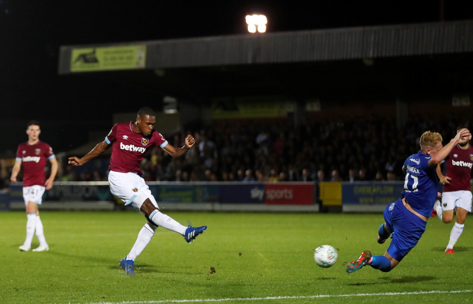 These West Ham fans have been delighted by Issa Diop's impact so far