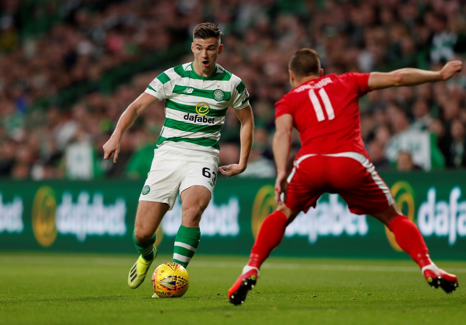 Everton walked away from possible Kieran Tierney deal