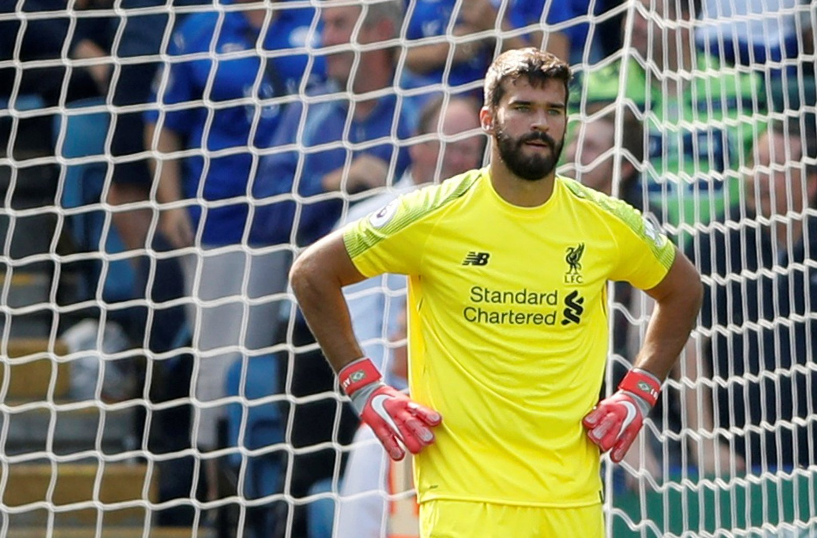 Alisson's mistake is a sign of where Liverpool are aiming to evolve