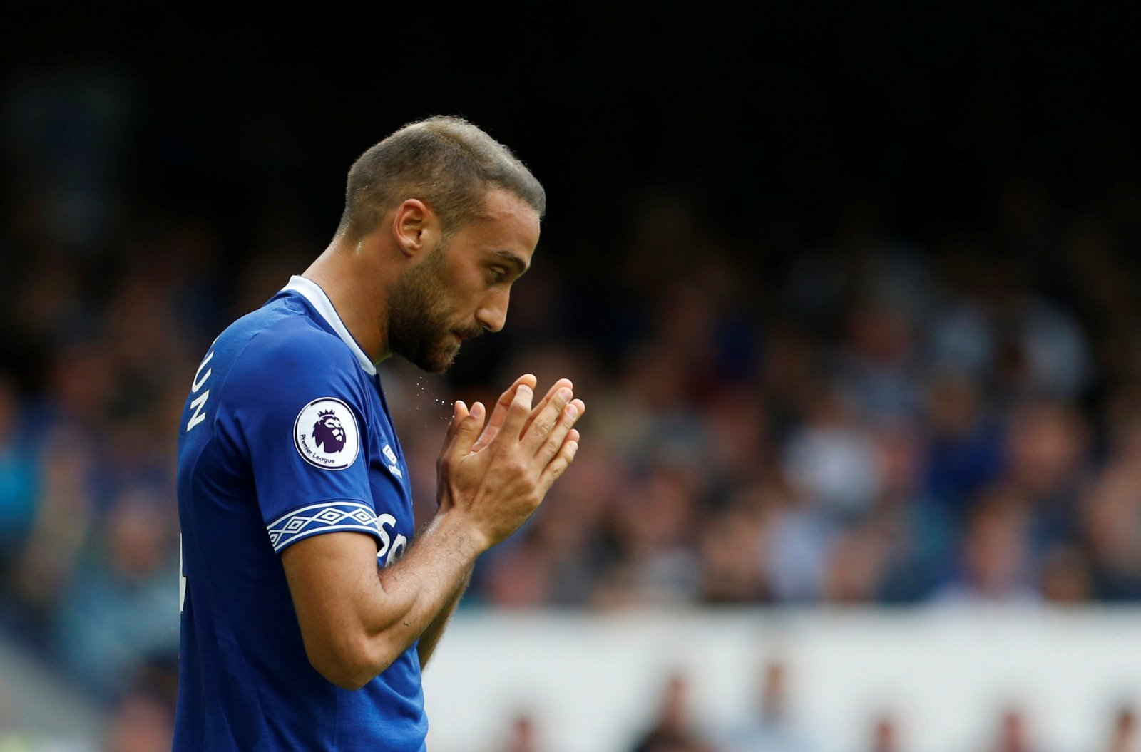 Everton fans on Twitter open to Tosun departure